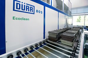 Machined parts cleaning machine DÜRR 805 Ecoclean